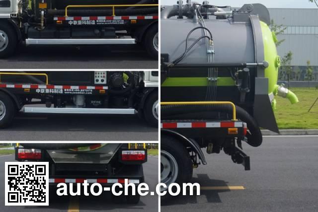 Zoomlion ZLJ5070GXWDFE4 sewage suction truck