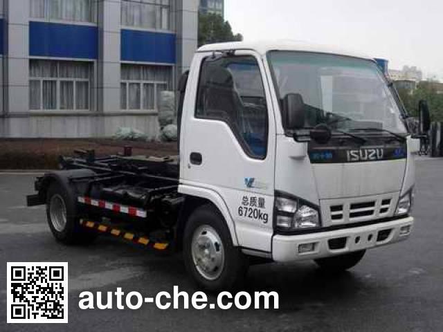 中联牌ZLJ5070ZXXQLE4车厢可卸式垃圾车