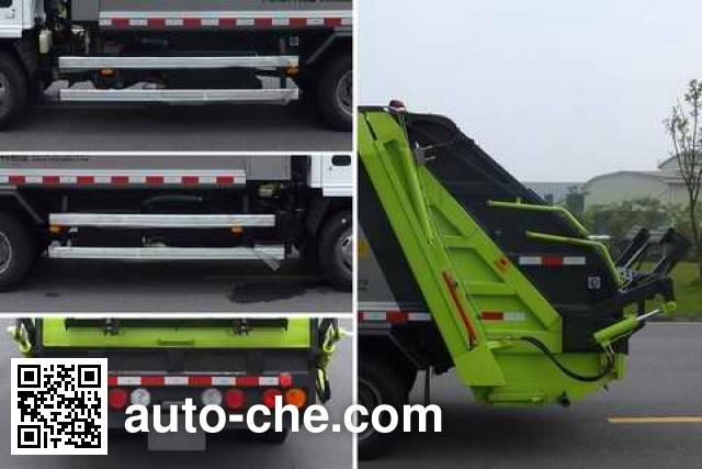 Zoomlion ZLJ5070ZYSQLE5 garbage compactor truck