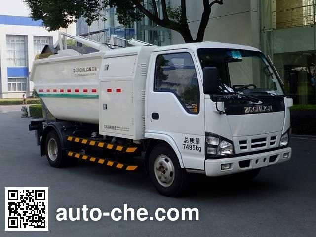 Zoomlion ZLJ5070ZZZBEV electric self-loading garbage truck