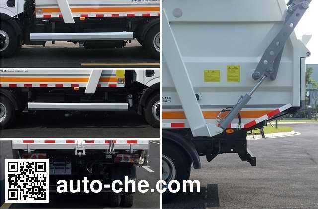 Zoomlion ZLJ5072ZYSDFE4 garbage compactor truck
