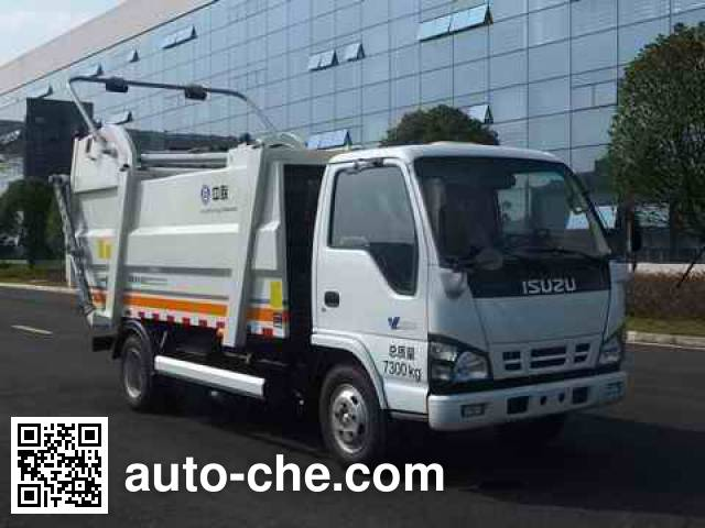 Zoomlion ZLJ5072ZYSQLE4 garbage compactor truck