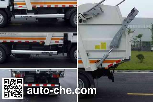 Zoomlion ZLJ5072ZYSQLE5 garbage compactor truck