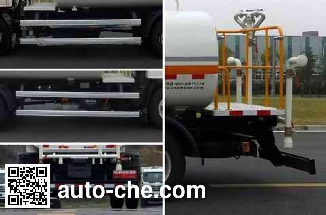 Zoomlion ZLJ5073GQXHFE5 street sprinkler truck