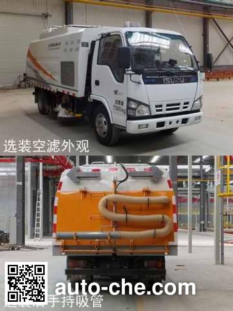 中联牌ZLJ5074TSLX1QLE5扫路车