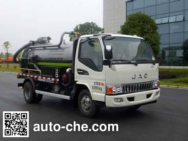Zoomlion ZLJ5080GXWHFE5 sewage suction truck