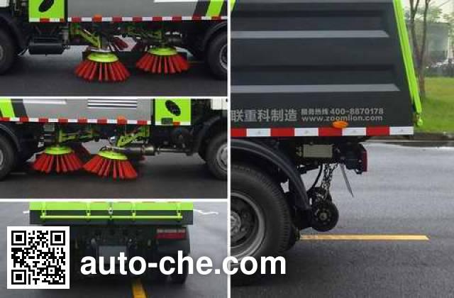 Zoomlion ZLJ5083TSLEQE5NG street sweeper truck
