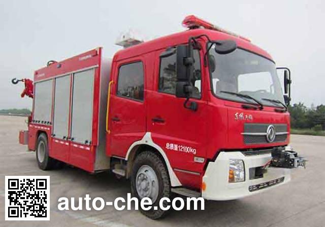 中联牌ZLJ5120TXFJY98抢险救援消防车