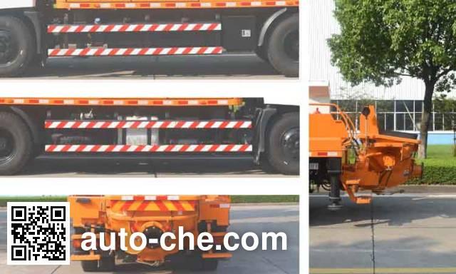 中联牌ZLJ5140THBE车载式混凝土泵车