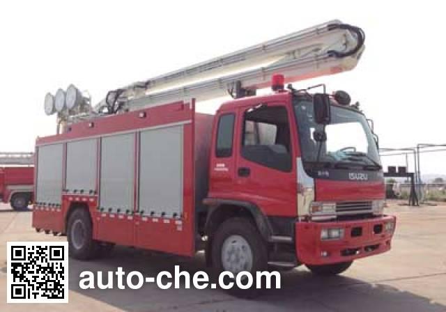 Zoomlion ZLJ5141TXFZM75 lighting fire truck