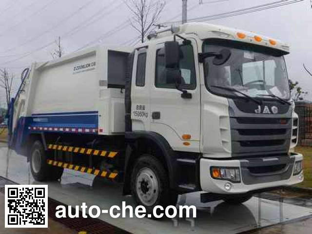 Zoomlion ZLJ5160ZYSHE4 garbage compactor truck