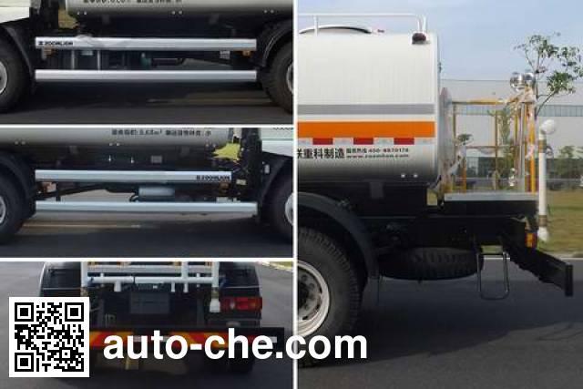 Zoomlion ZLJ5163GQXLZE5 street sprinkler truck