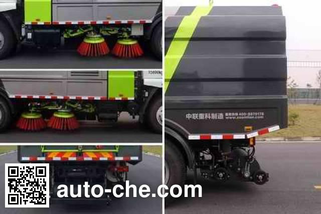 Zoomlion ZLJ5163TSLX1LZE5 street sweeper truck