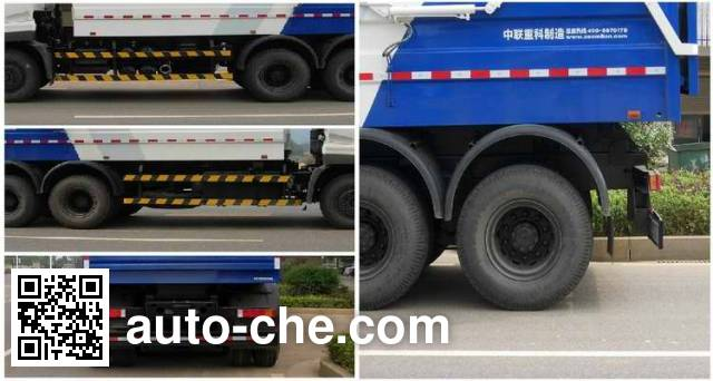 Zoomlion ZLJ5200ZLJE4 dump garbage truck
