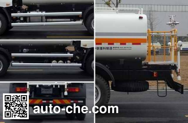 Zoomlion ZLJ5251GQXLZE4 street sprinkler truck