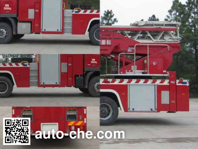 Zoomlion ZLJ5270JXFYT42 aerial ladder fire truck