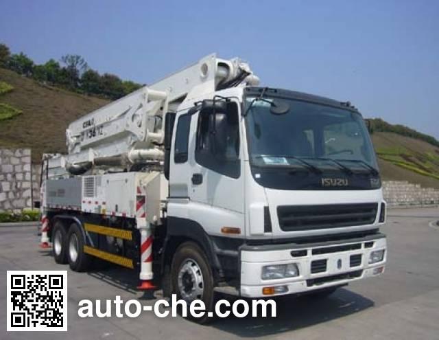 中联牌ZLJ5270THBK混凝土泵车