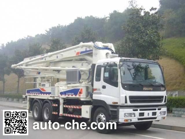 Zoomlion ZLJ5297THB concrete pump truck