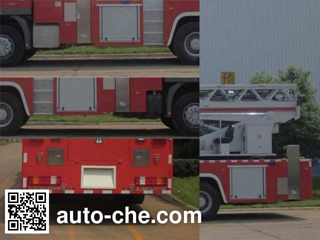 Zoomlion ZLJ5300JXFYT53 aerial ladder fire truck
