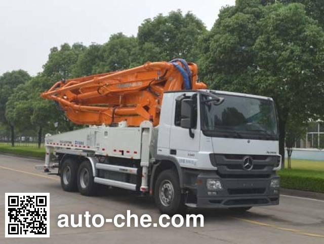 Zoomlion ZLJ5300THBB concrete pump truck