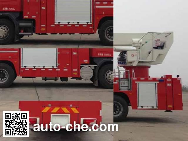 Zoomlion ZLJ5306JXFJP32 high lift pump fire engine