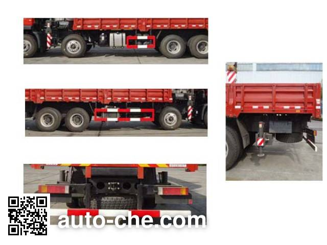 Zoomlion ZLJ5310JSQD truck mounted loader crane