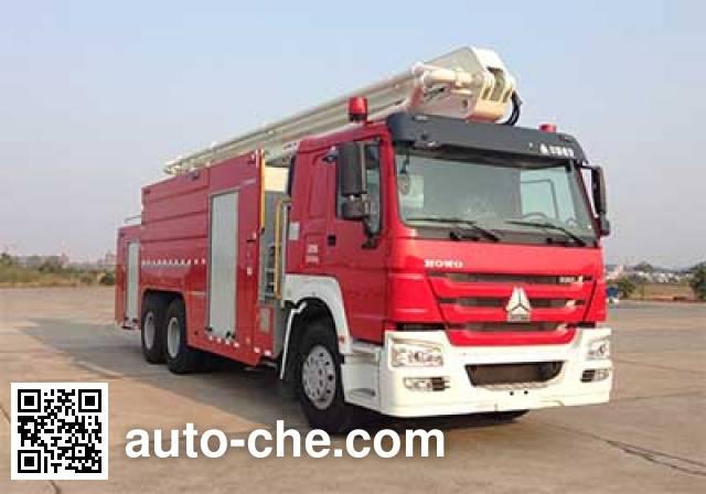 Zoomlion ZLJ5310JXFJP25 high lift pump fire engine