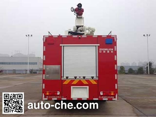 Zoomlion ZLJ5320JXFJP18 high lift pump fire engine