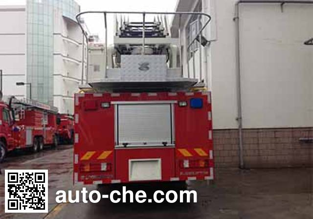 Zoomlion ZLJ5323JXFYT32 aerial ladder fire truck