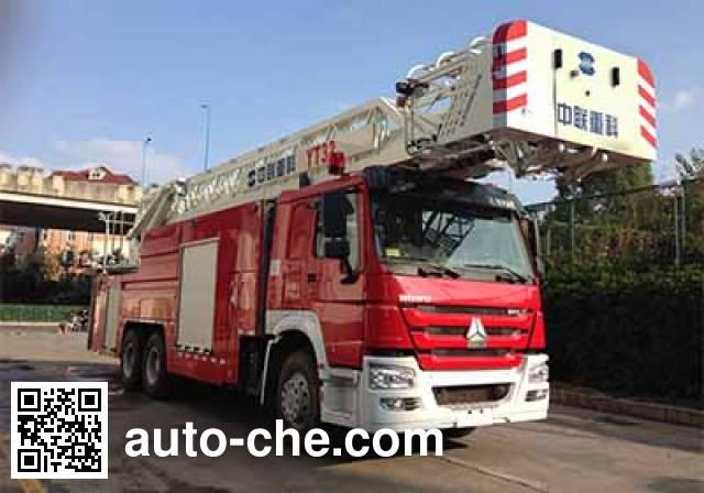 中联牌ZLJ5324JXFYT32云梯消防车