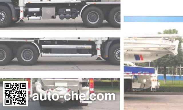 Zoomlion ZLJ5330THBB concrete pump truck