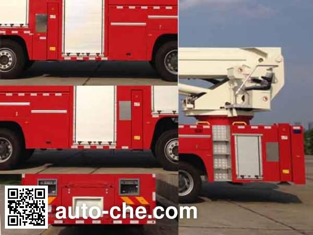 中联牌ZLJ5400JXFJP60举高喷射消防车
