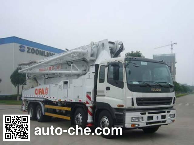 中联牌ZLJ5400THBK混凝土泵车