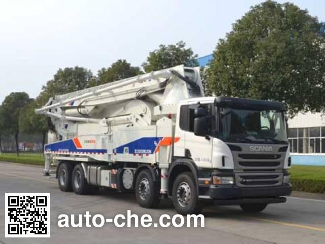 中联牌ZLJ5410THBS混凝土泵车