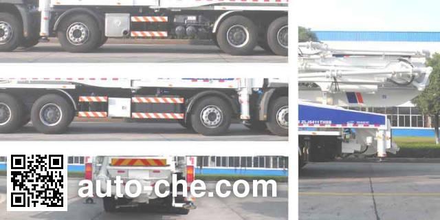 Zoomlion ZLJ5411THBB concrete pump truck