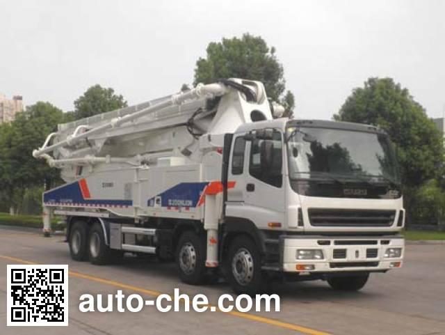 Zoomlion ZLJ5417THB concrete pump truck