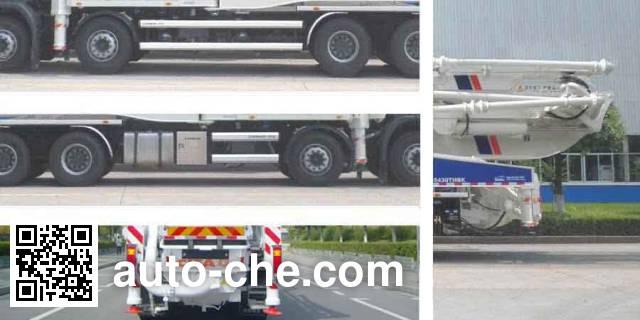 中联牌ZLJ5430THBK混凝土泵车