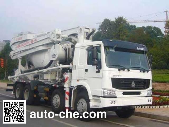 Zoomlion ZLJ5435THB mixing concrete pump truck