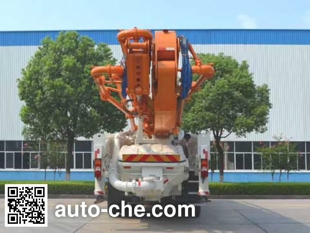 中联牌ZLJ5440THBB混凝土泵车
