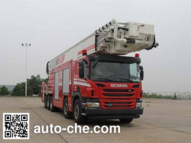 Zoomlion ZLJ5510JXFJP72 high lift pump fire engine