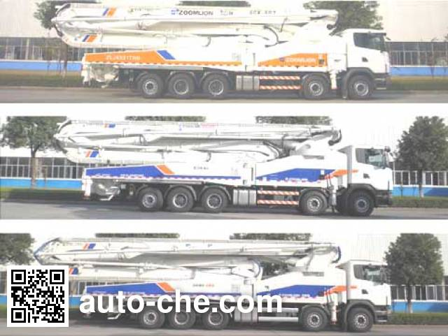 中联牌ZLJ5530THBK混凝土泵车