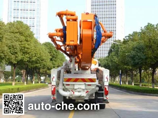 中联牌ZLJ5530THBS混凝土泵车