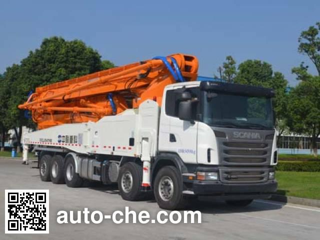Zoomlion ZLJ5540THBS concrete pump truck