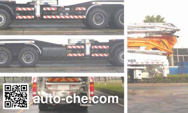 中联牌ZLJ5640THBB混凝土泵车