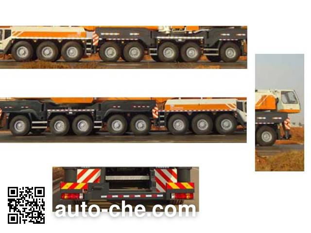 Zoomlion ZLJ5960JQZ500 all terrain mobile crane