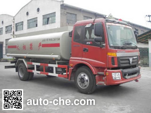 Shuangda ZLQ5164GHY chemical liquid tank truck