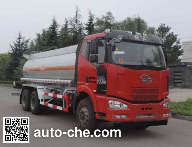 Shuangda ZLQ5250GFW corrosive substance transport tank truck