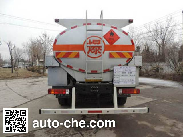 Shuangda ZLQ5253GRYA flammable liquid tank truck