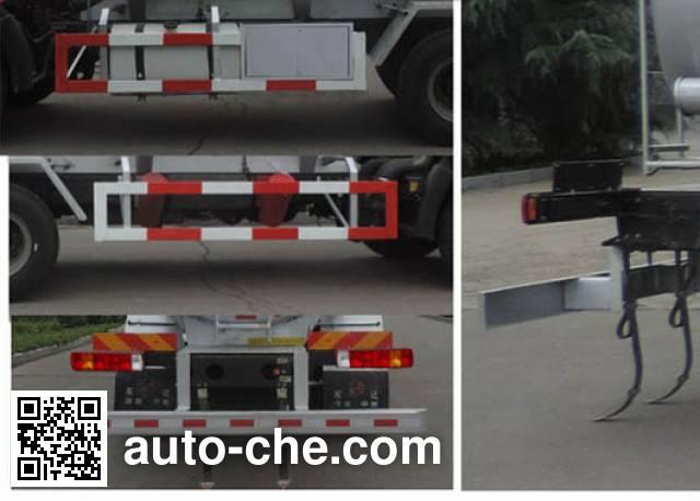 Shuangda ZLQ5257GFW corrosive substance transport tank truck
