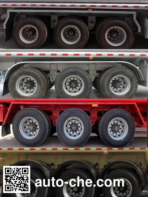 Shuangda ZLQ9409GRYA flammable liquid tank trailer